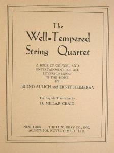 Get 'The Well-Tempered String Quartet' on AmazonUK