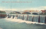 Eighth St. Concrete Bridge and Dam, Sioux Falls, S.D. 1913