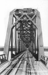View of the big bridge at Pierre 1913