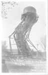 The Water Tank Going Down, Vermillion, S.D. 1909