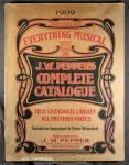 J.W. Pepper catalog, 1909